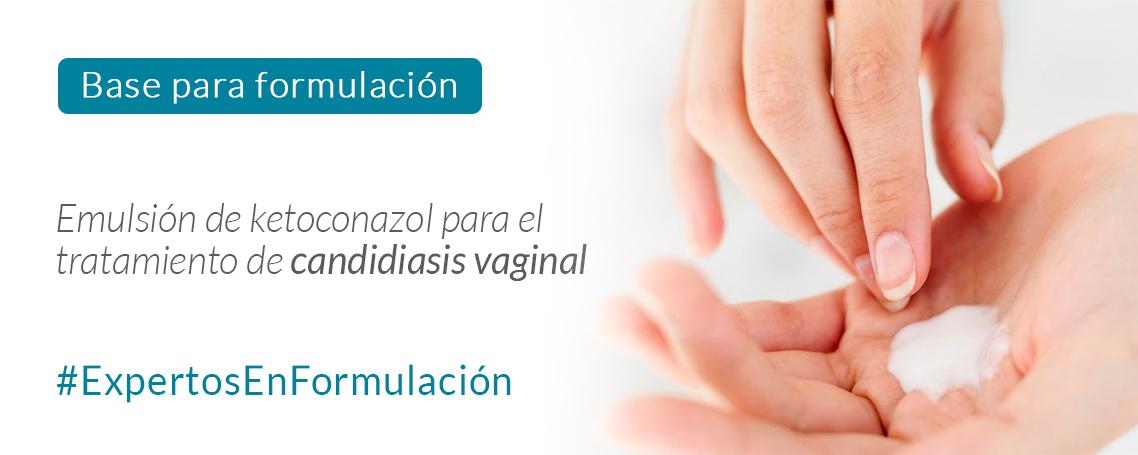 Fórmula magistral para la candidiasis vaginal
