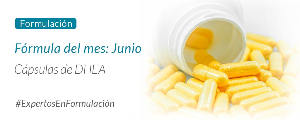 Fórmula del mes junio: cápsulas de DHEA