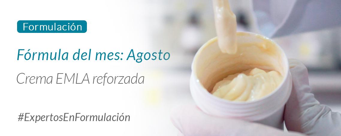 Fórmula del Mes: Crema EMLA reforzada