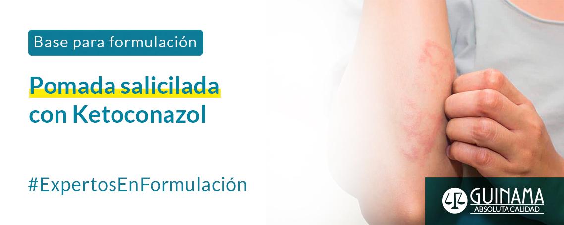 Pomada Salicilada con Ketoconazol