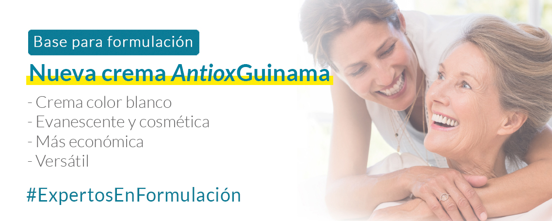 Nueva Crema Antiox Guinama