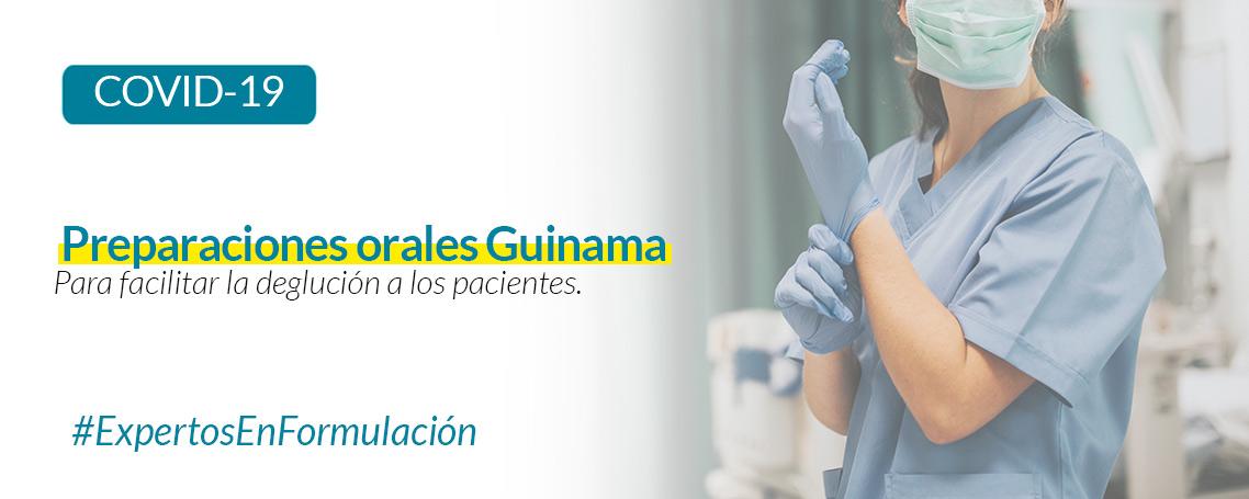 Preparaciones orales para facilitar la deglución a los pacientes