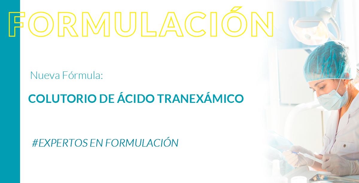 Colutorio de ácido tranexámico