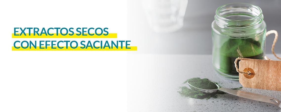Extractos de plantas con efecto saciante